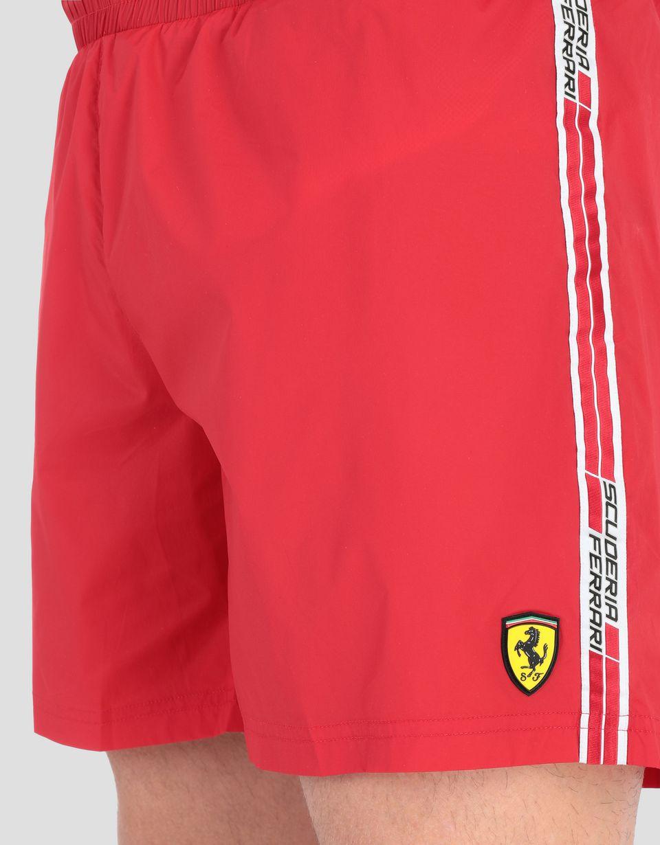 Scuderia Ferrari Online Store - Bañador con Icon Tape  Scuderia Ferrari - Bañadores bóxer