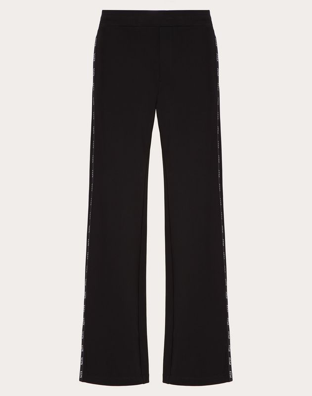 JERSEY PANTS WITH VLTN PIPING