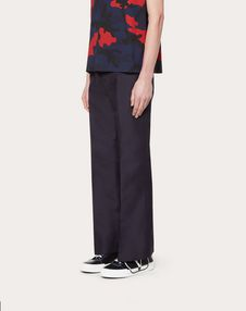 TROUSERS WITH VLTN PRINT