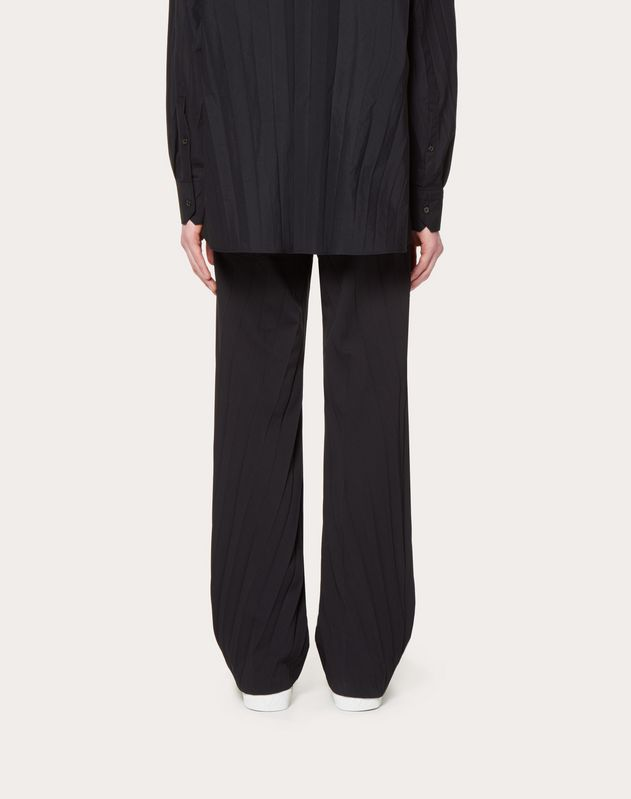 OVERSIZED PLEATED TROUSERS