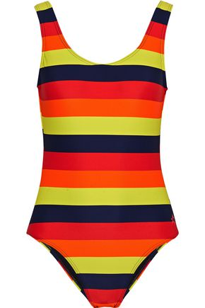 PERFECT MOMENT Striped swimsuit