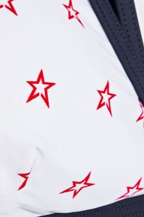 PERFECT MOMENT Printed triangle bikini