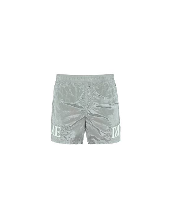 STONE ISLAND Swimming trunks B0443 NYLON METAL