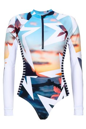 PERFECT MOMENT Printed swimsuit