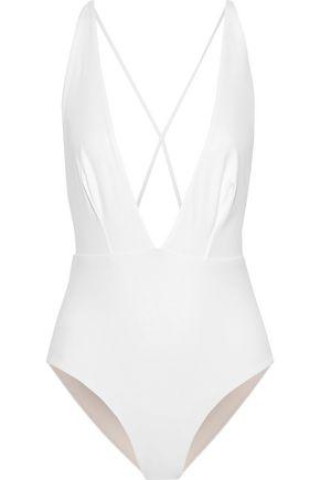 SKIN Open-back swimsuit