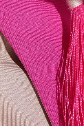 SKIN Tasseled low-rise bikini briefs