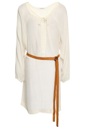 EBERJEY Summer Of Love Juliet belted gauze mini dress