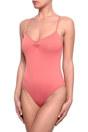 EBERJEY Sasha ruched swimsuit