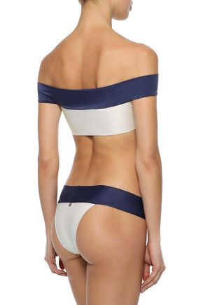 ADRIANA DEGREAS Off-the-shoulder bikini
