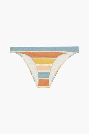 VIX PAULA HERMANNY Basic striped low-rise bikini briefs