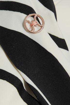 VIX PAULA HERMANNY Blanca Bia striped low-rise bikini briefs
