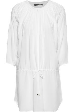 VIX PAULA HERMANNY Sara pintucked voile coverup