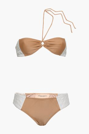 ADRIANA DEGREAS Two-tone bikini