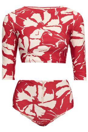 ADRIANA DEGREAS Floral-print bikini