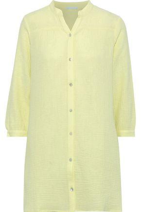 EBERJEY Lucia cotton-gauze nightdress