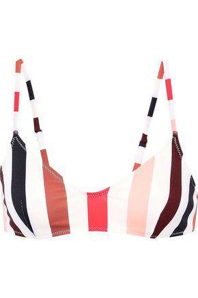 SOLID & STRIPED The Rachel striped bikini top