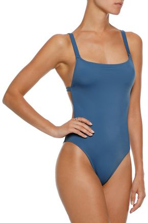 SOLID & STRIPED The Toni cutout swimsuit