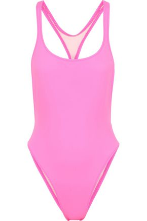 SOLID & STRIPED + RE/DONE The Venice cutout swimsuit