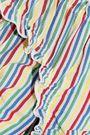 SOLID & STRIPED The Audrey striped seersucker low-rise bikini briefs