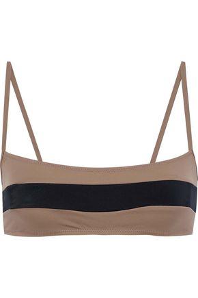 SOLID & STRIPED The Brooke striped bikini top