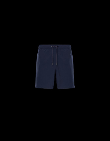 SWIM SHORTS Dark blue Pants Man