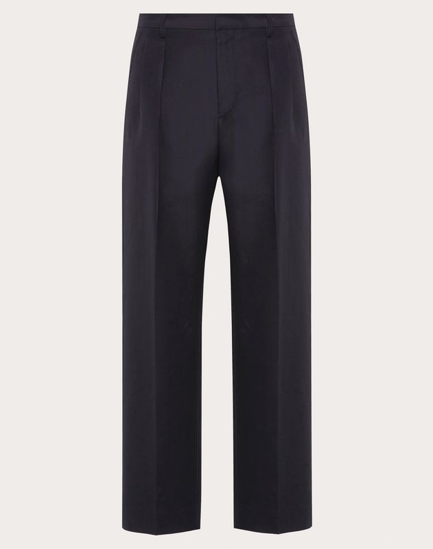 SILK COTTON TROUSERS
