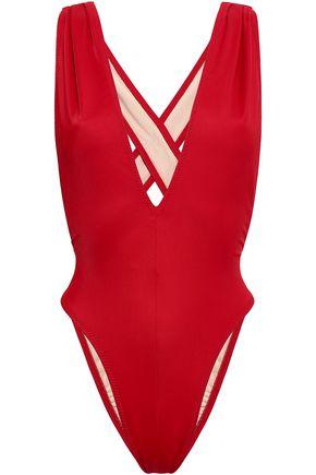 NORMA KAMALI | Norma Kamali Cutout Swimsuit | Goxip