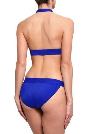 NORMA KAMALI Cutout halterneck bikini top