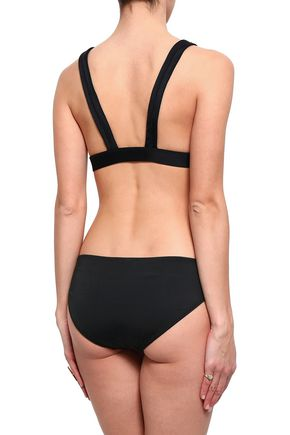NORMA KAMALI Triangle bikini top