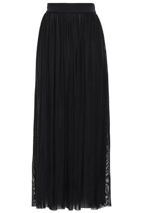JETS AUSTRALIA by JESSIKA ALLEN Layered mesh maxi skirt