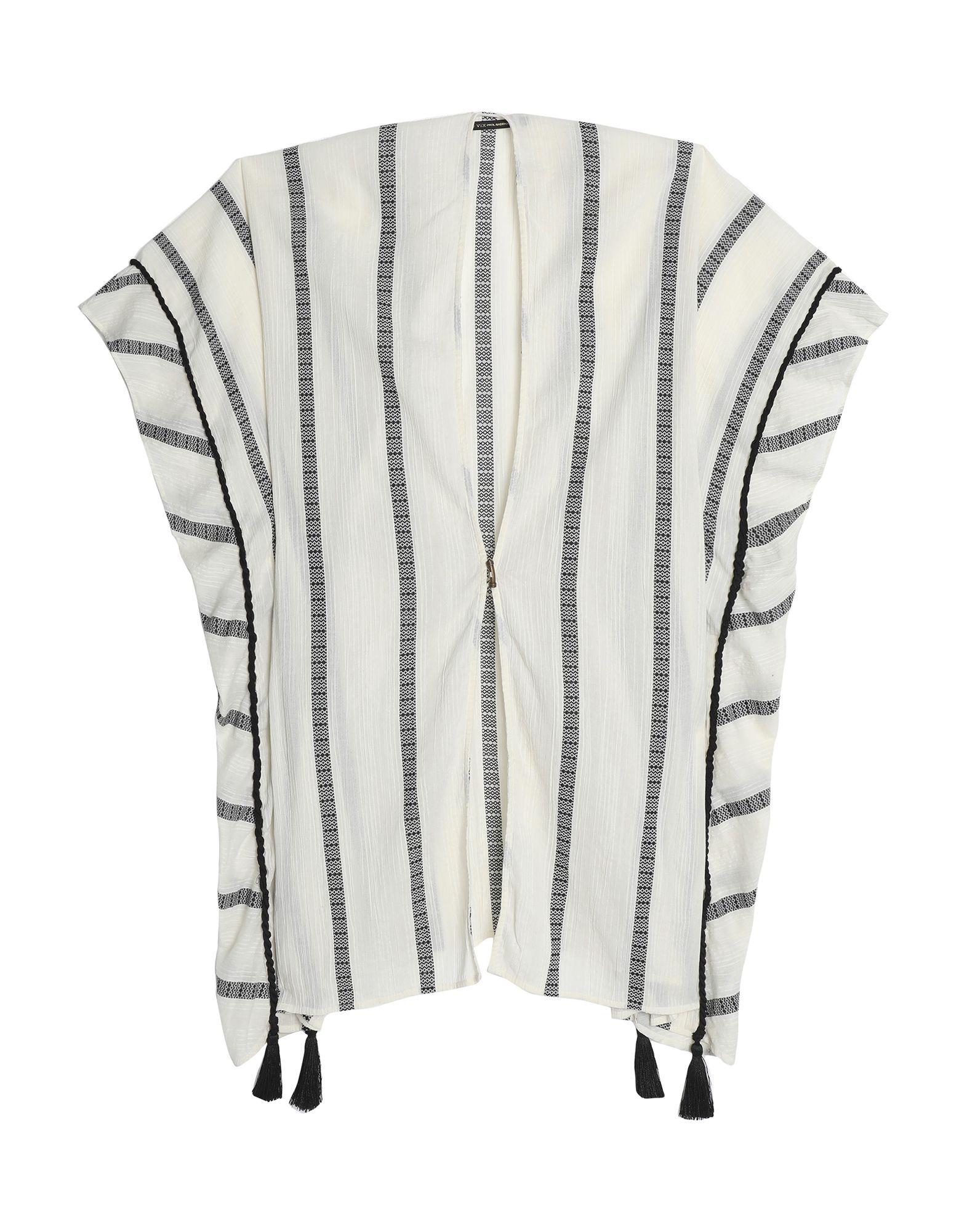 《セール開催中》VIX PAULA HERMANNY レディース ビーチドレス ホワイト one size コットン 100%
