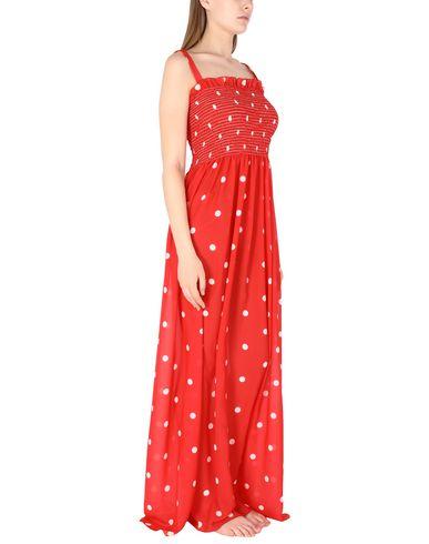 Фото 2 - Пляжное платье от MIMÌ À LA MER красного цвета