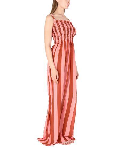 Фото 2 - Пляжное платье от MIMÌ À LA MER розового цвета