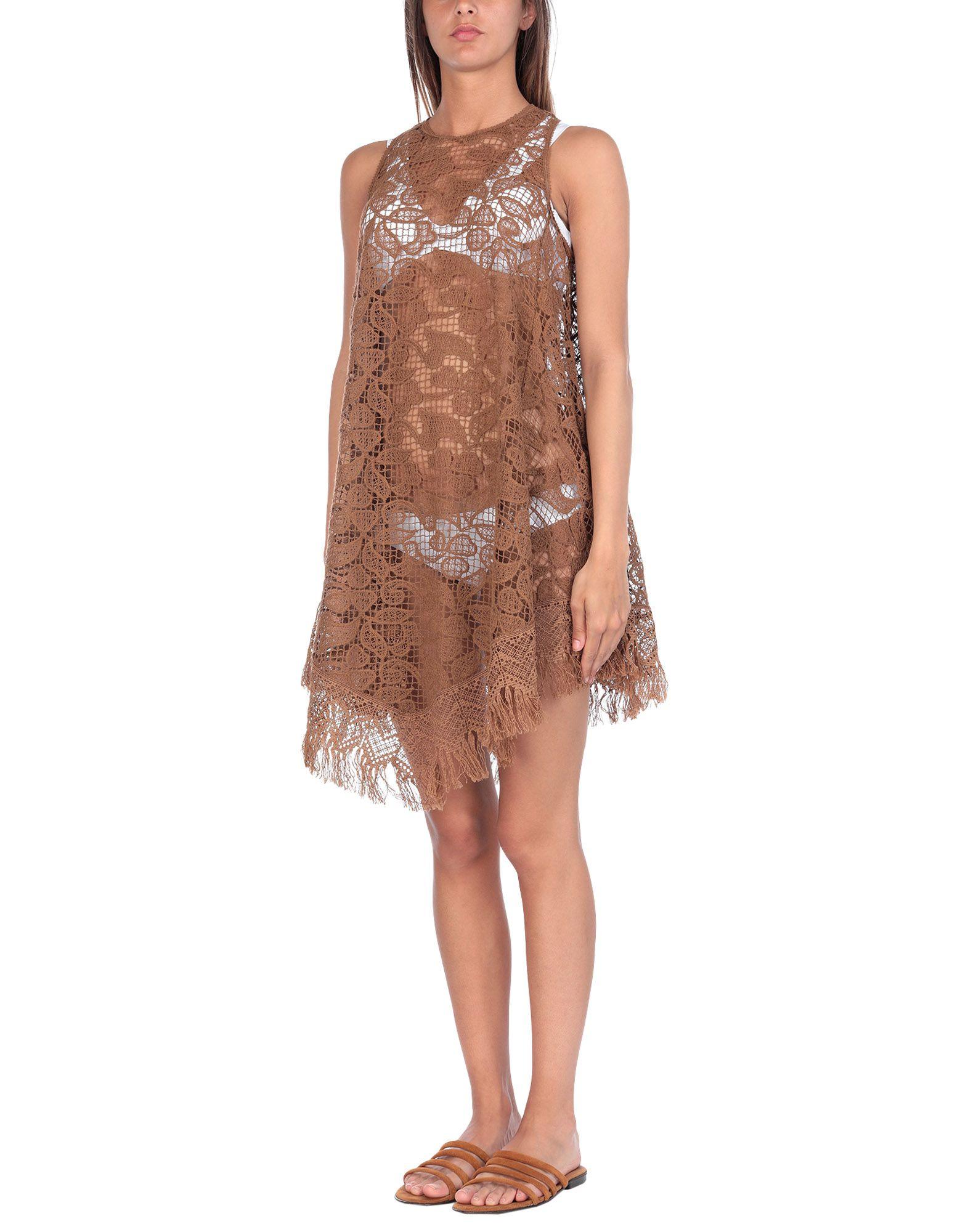 ERMANNO SCERVINO BEACHWEAR Пляжное платье пляжное прозрачное платье blugirl beachwear