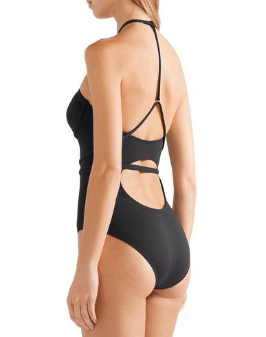 Фото 2 - Слитный купальник от SKIN черного цвета