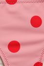 SOLID & STRIPED Polka-dot low-rise bikini briefs