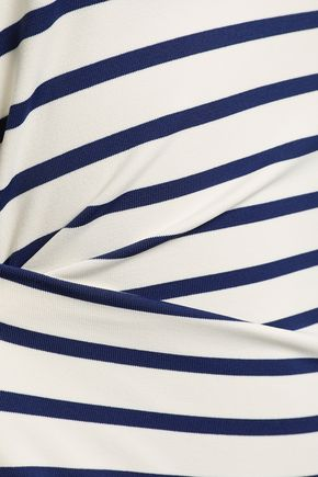 SOLID & STRIPED The Margot striped swimsuit