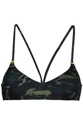 MELISSA ODABASH Printed bikini top