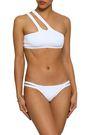 MELISSA ODABASH St. Lucia one-shoulder cutout bikini top