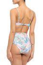 MELISSA ODABASH Madrid printed triangle bikini top