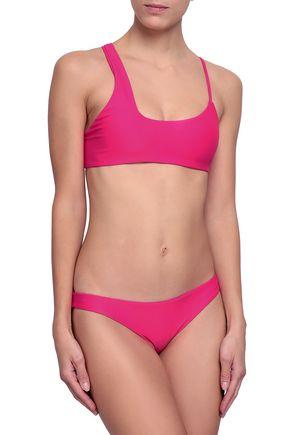 MIKOH Zuma neon low-rise bikini briefs