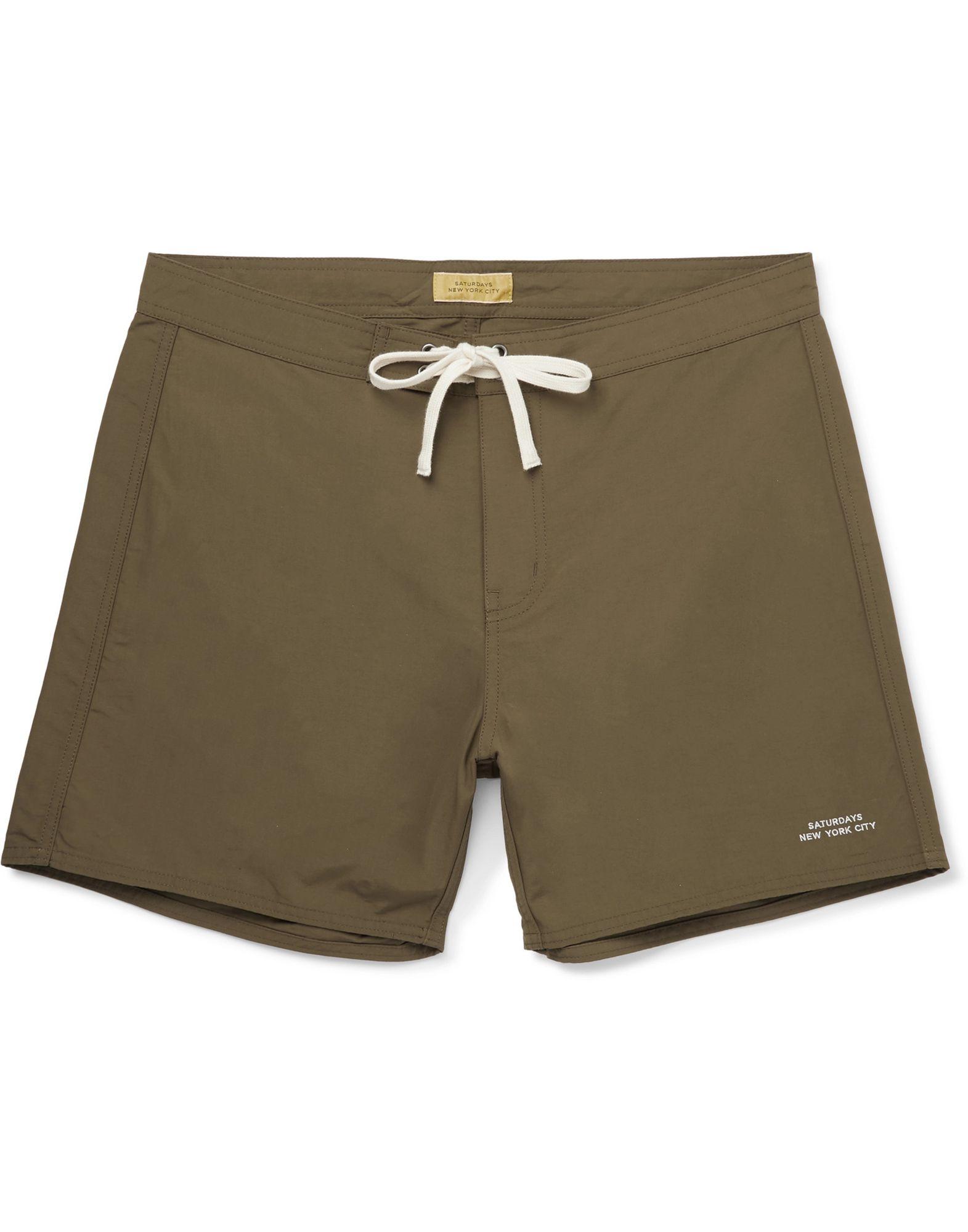 SATURDAYS NEW YORK CITY Пляжные брюки и шорты недорого