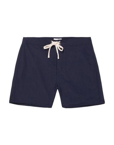 Фото - Пляжные брюки и шорты от SATURDAYS NEW YORK CITY темно-синего цвета