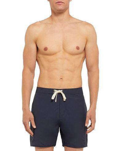 Фото 2 - Пляжные брюки и шорты от SATURDAYS NEW YORK CITY темно-синего цвета