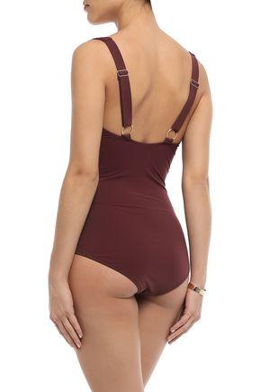 HEIDI KLEIN Ruched swimsuit