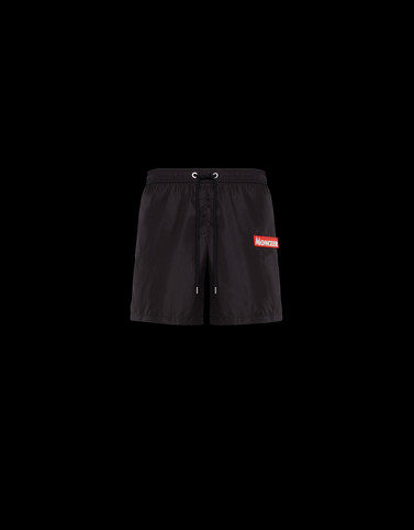 SWIM SHORTS Black Trousers