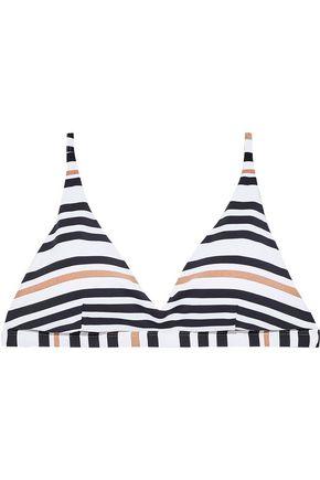 JETS AUSTRALIA by JESSIKA ALLEN Vista metallic striped triangle bikini top