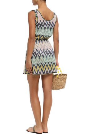 M MISSONI Cotton mini dress