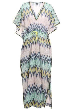 M MISSONI Printed cotton-voile kaftan