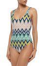 M MISSONI Printed swimsuit
